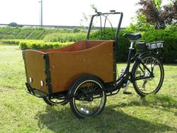 2015 hot sale three wheel danish electric cargo tricycle / trike / bike / bicycle for sale