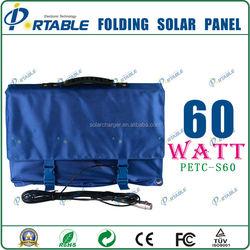 Portable 60W monocrystalline solar panels cheap import products