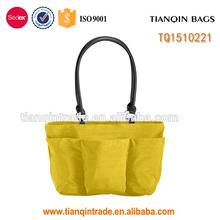 New design cheap ladies nylon shopping bag