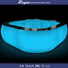 sales pe led furniture/rechargeable battery outdoor led bar counter