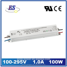 100W Constant Current LED Driver by 1-10V Dimming with CE UL CUL SELV