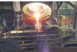 Bottom price hot selling aluminum melting holding furnace