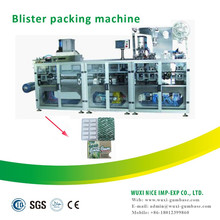 automatic food packing machine with blister form