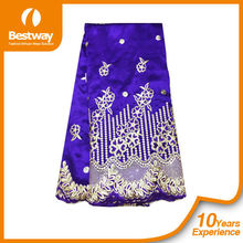 fashion george lace fabric/fabric for wedding party/african lace fabrics for garment GP0029