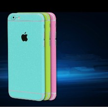 Full Body Glitter Cover Wrap Skin Phone Sticker Case Screen Protector For Iphone 6/6plus