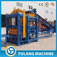 hollow blocks making machine manufacturers QTF4-15C german design 2013 latest design hot sales cement block machine