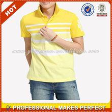 Dos personalizado de color de la camisa de polo, t- shirt fabricantes en china( ycs-009)