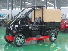 Four wheels hydraulic braking system electric logistic vehicle for sale