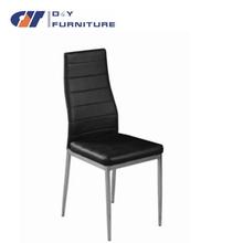 la espalda 2015 forrados de cuero silla de comedor