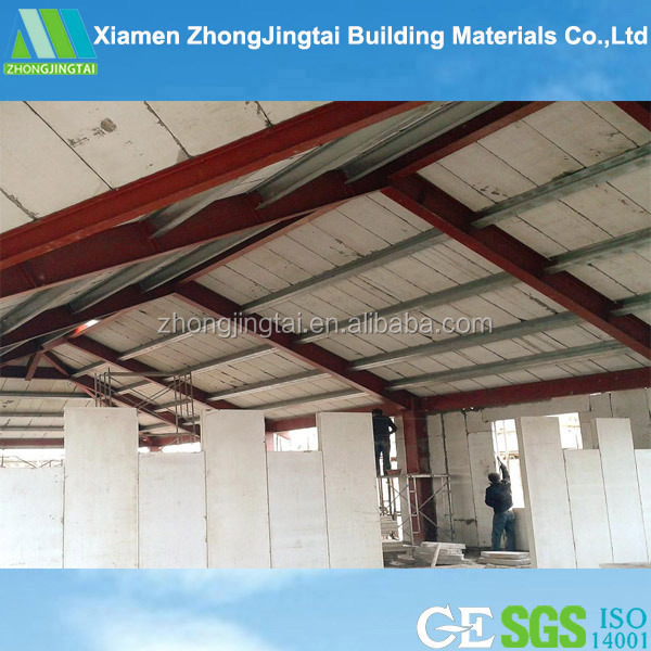 Eps Foam Roof Panels : Prefab house eps cement sandwich panel foam composit