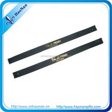 decorative screen printing OEM wristband with metal Sliding bead