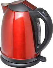 1.7L Stainless Steel 360 degree cordless red Eletric Kettle