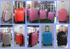 2015 fashionable polycarbonate trolley luggage vintage trolley luggage