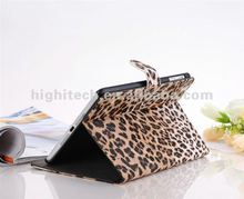 Leopard Stand Leather Case for ipad mini