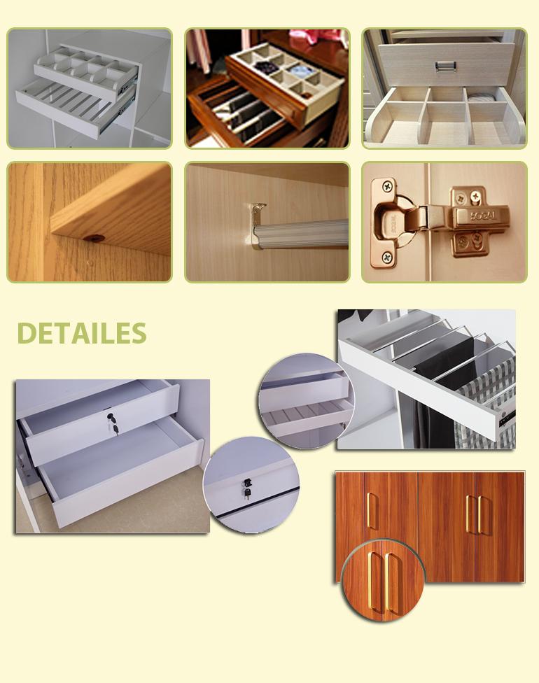 China suppiler slaapkamer houten almirah ontwerpen, goedkope ...