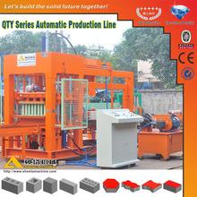 QTY8-15 concreta que hace la máquina de ladrillo hueco