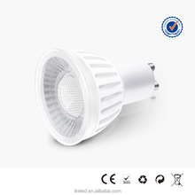Type F LED Spotlight 7W GU10 Warm Natural and Cold White Spot Lighting Best Choice