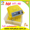 48 eggs automatic small parrot incubator for poultry mini hatchery machine