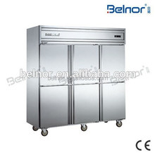 KCD1.6L6W/ kitchen equipment supplier stainless steel kitchens commercial refrigerator