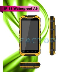 made in china A9 4.3inch 8gb Android 4.2.2 waterproof mobile phone