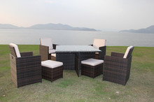 Home Furniture,Outdoor Furniture General Use and Dining Room Set,Garden Set Specific Use heavy-duty dining table and chairs