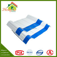 Easy installation antistatic insulation 3 layer plastic roof shingles