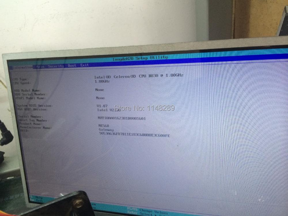 For Gateway Ne56r / Acer