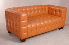 Clássico moderno Kubus sofá laranja