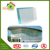 High quality with best price light weight PC sun roof for house