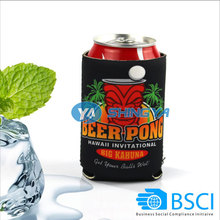 Promotional OEM beer can cooler neoprene/can cooler holder
