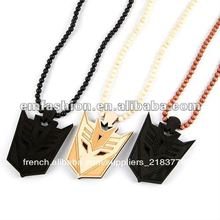 hip hop fashion nouveau style dception collier en bois