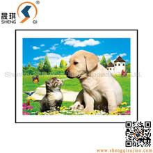 3D Flip Effect Puppy 3D Plastic Picture