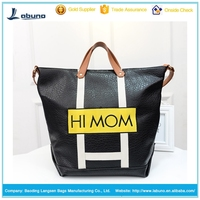 2015 best sale pu handbag pu tote bag