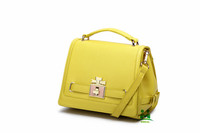 Omeal factory direct sales yellow high quality ladies handbags pu leather shoulder bag M-M14 large stock fast free shipping DHL