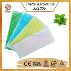 china supply New style minty flavoring good effect natural ingredients be cool fever patch
