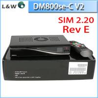 Engima 2 DVB-C Satellite Receiver Dm 800se v2 Sim2.2 Wifi PVR HD TV Receiver Dm800hd se V2 Sunray Rev E dm 800 hd se v2
