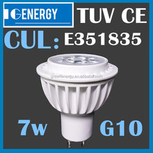 cul listed 3000k 230 volt 120 degree day light gu10 6w led dimmable