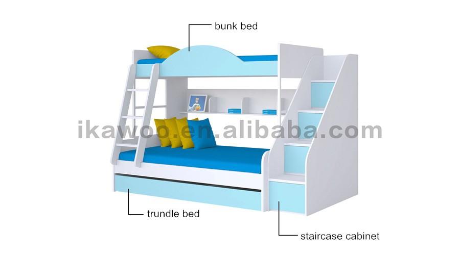 enfants lits superpos s avec tude table jouet armoire de rangement pour la maternelle ensemble. Black Bedroom Furniture Sets. Home Design Ideas