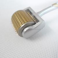 Free shipping 192 needle titanium golden derma roller, mezo roller, mezoroller, skin lifting face care meso roller