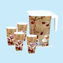 Plastic square water jug