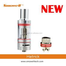 2015 new product Latest Sub Ohm Tank smowell hatrick Atomzier fits Istick TC 40w VS russian 91% atomizer kayfun clone