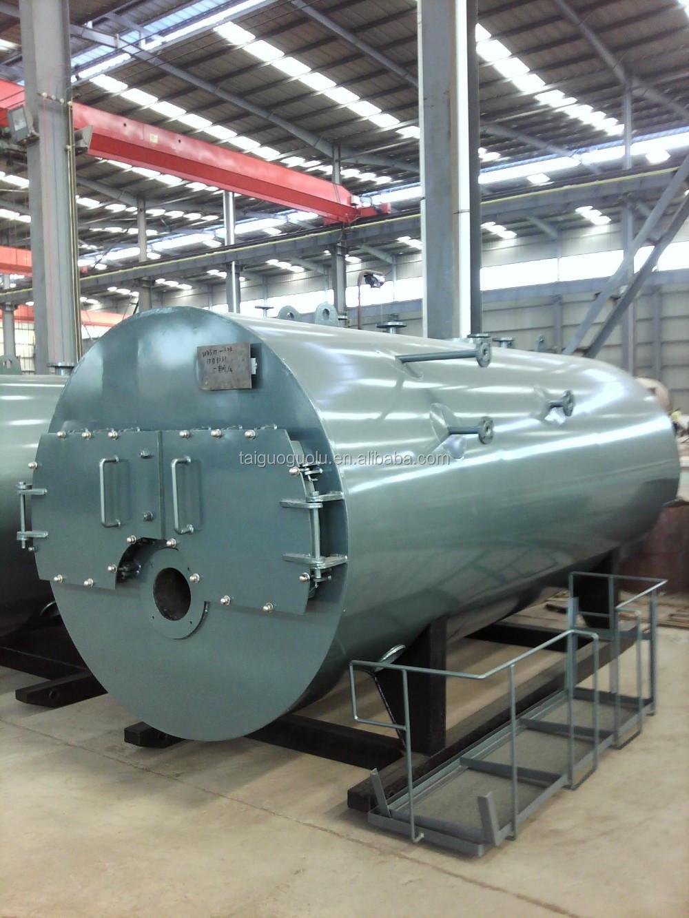High Efficiency Three Pass Fire Tube Furnace Oil Fired Steam Boiler ...