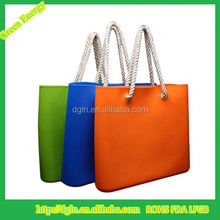 new Fashion custom logo Silicone Handbags/Silicone Rubber ladies hand bags