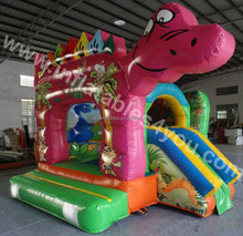 New design dinosaur theme small inflatable combo for kids