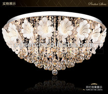 factory-outlet modern crystal ceiling lamp glass flower