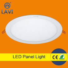 Ultra bright 18w round led panel light RA>85 1620lm for house using