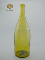 2015 Newest Hot Sale Glass Wine Bottle , Bottle Of Red Wine 1500ml