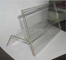 2014 chemical resistance acrylic name plate holder with transmitting finishing