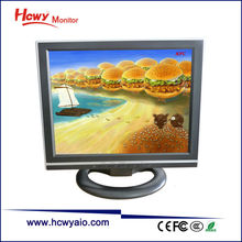 "14"" VGA Monitor DC12V 14 inch Computer LCD Monitor With RCA Input"