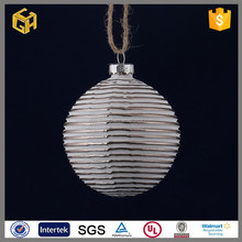 Christmas holiday glass ball with painting from China supplier